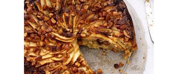 Tweaked Apple, Almond & Ginger Cake