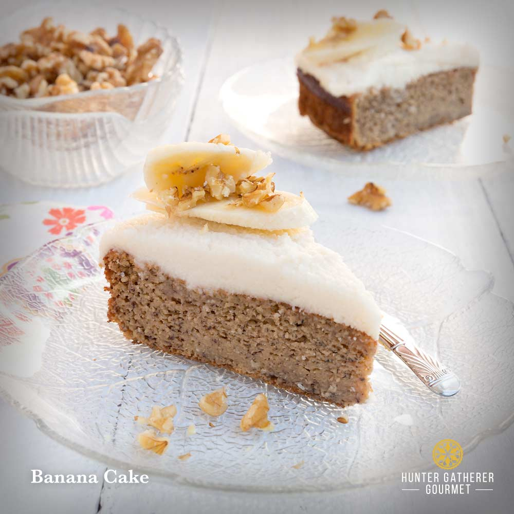 Sugar Free Banana Cake Nz