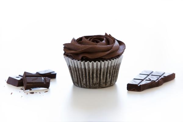chocolate paleo muffin