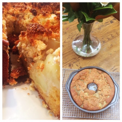 Feijoa And Apple Cake