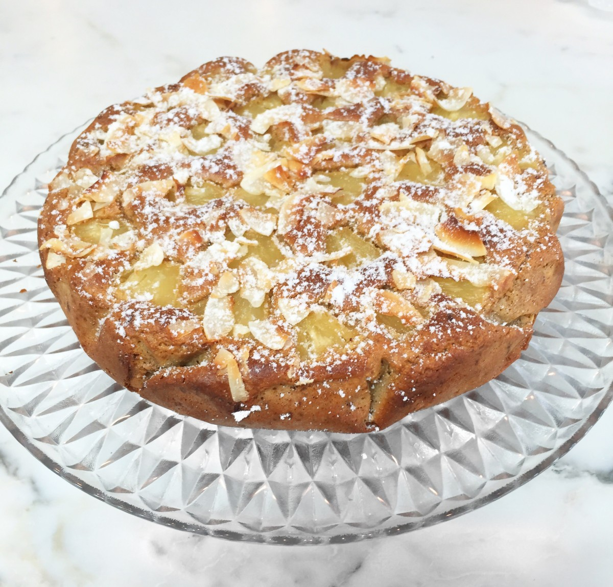 Pineapple and Yoghurt Cake