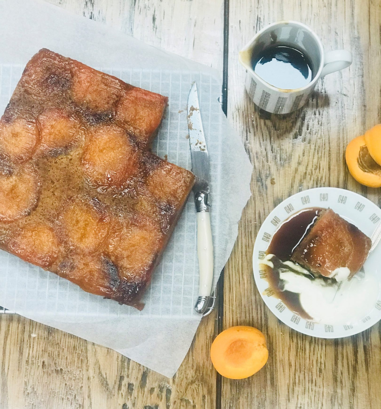 Apricot and Spice Cake