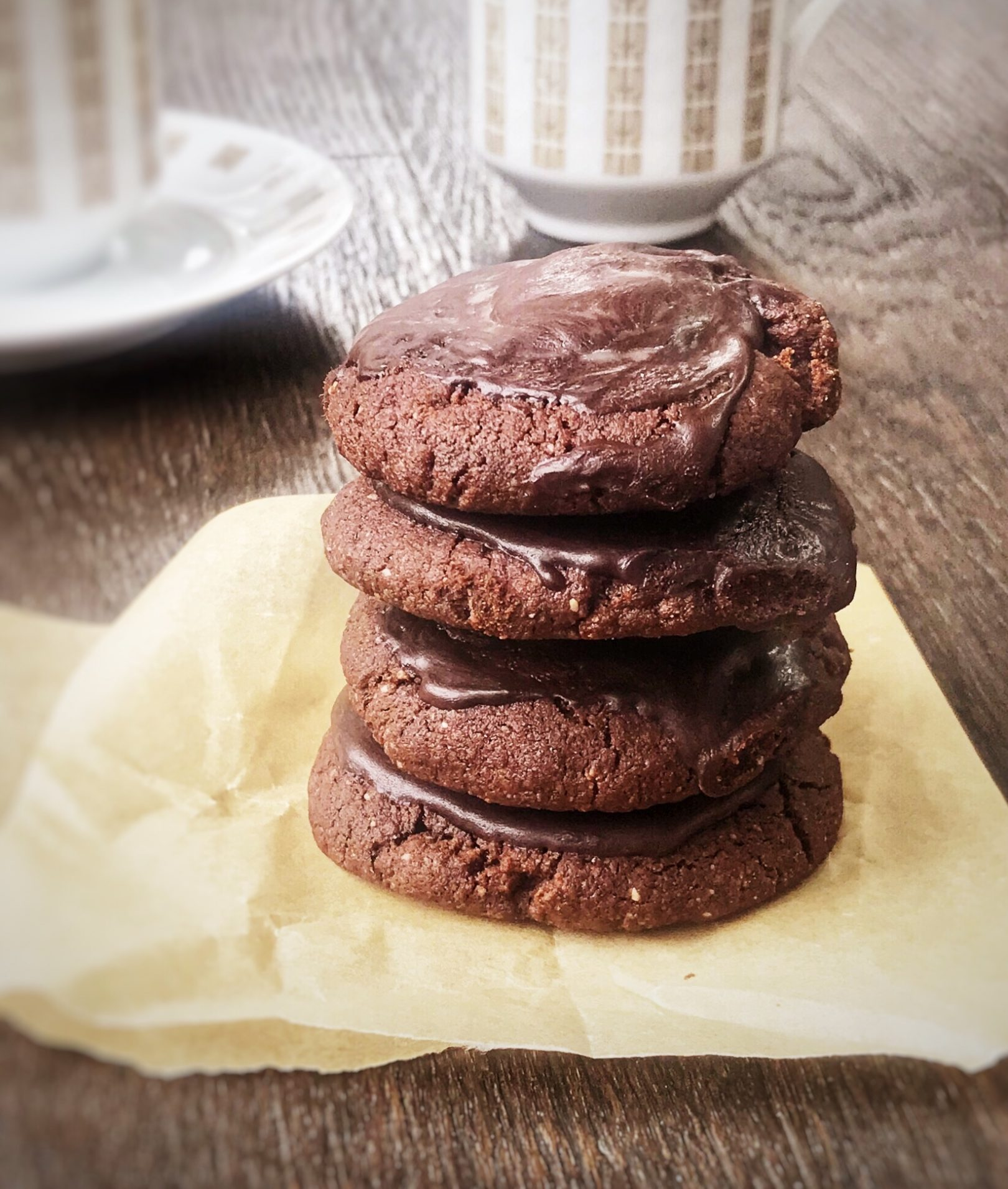 Vegan or Egg Free Brownie Cookies